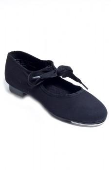 Capezio Canvas JR. Tyette, children's tap shoes for beginners